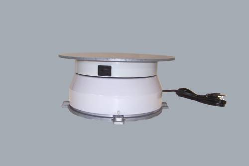 "Turntable With Outlet - 12"" Round - 150 Pounds"