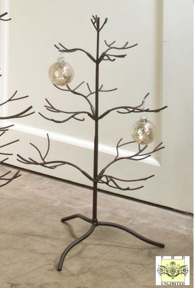 Ornament tree brown natural quot display trees