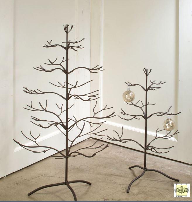Christmas Ornament Display Tree wood display trees ornament