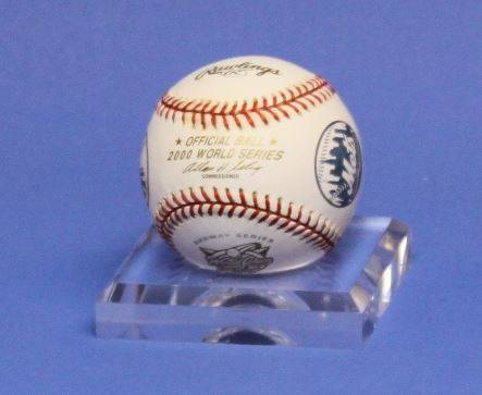 Baseball Holders - Set of 6 Lucite Stands