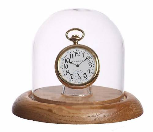 "Pocket Watch Display -  4""  x 4"" Dome with Stand"
