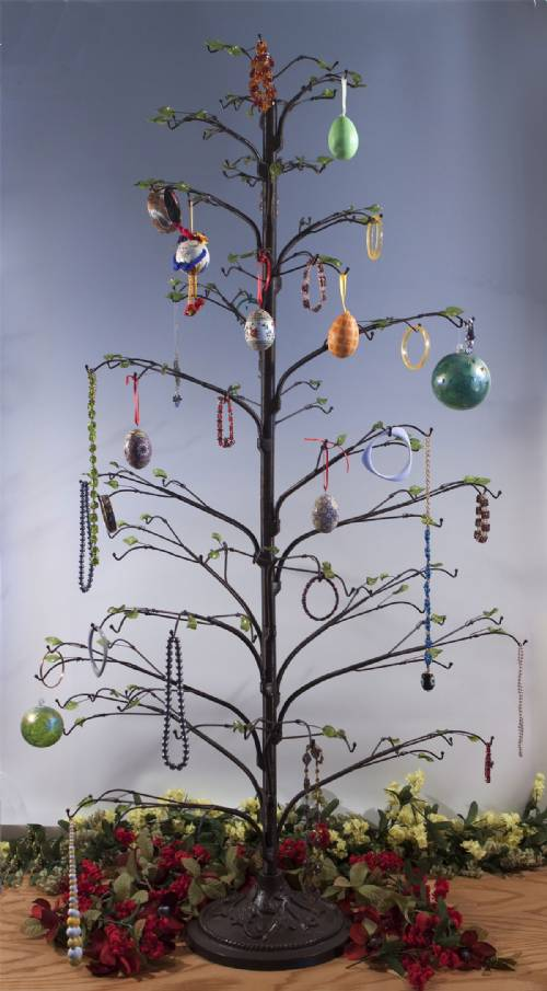Ornament trees wire twig quot display
