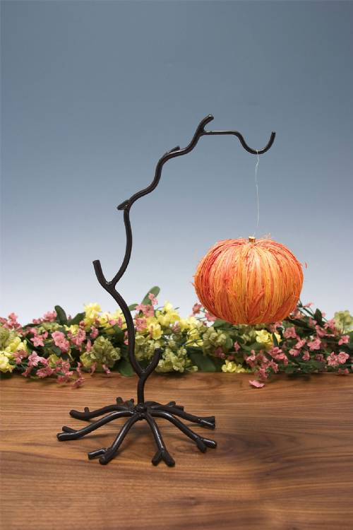 Ornament Stands Wrought Iron Twig Set Of 4 Ornament