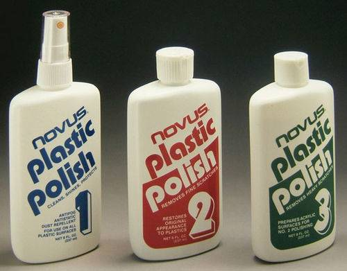Plastic Polish - Two Ounce Set