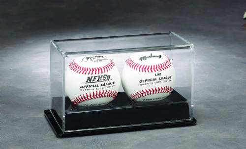 Baseball Display Case - Double Acrylic