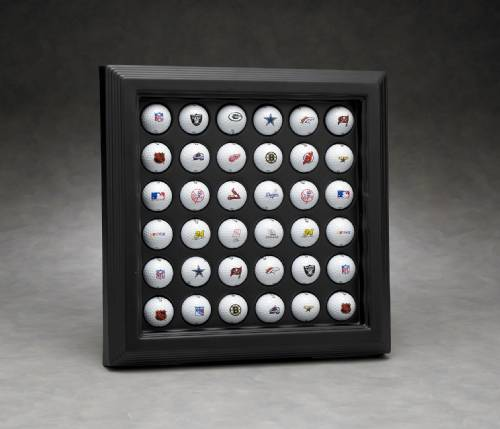 Golf Ball Display Case - Acrylic Framed Display