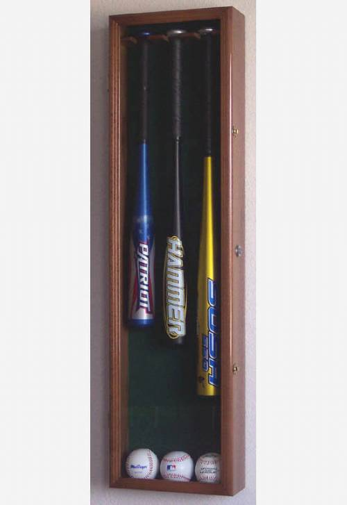 Display Cases - Baseball Bat - 3 Bat UV Acrylic