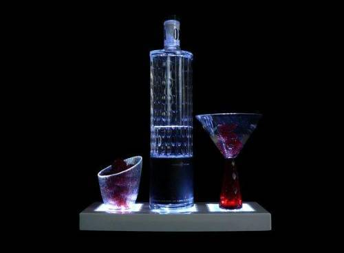 Liquor Bottle Lighted Display Stand