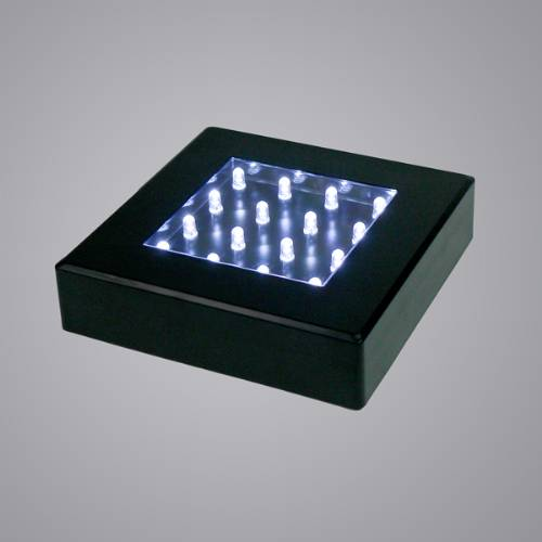 Light Bases - Powerful Black Square
