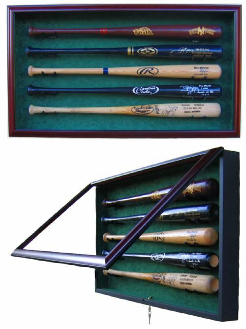 Display Cases Baseball Bats 2 To 16 Bats Baseball