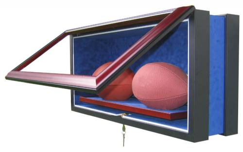 Display Cases - Football - Premium