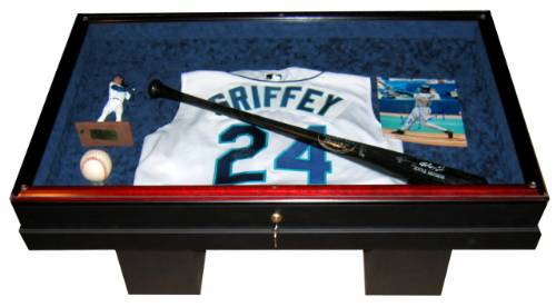 Display Case Baseball Memorabilia Souvenir Table Baseball Memorabilia Displays