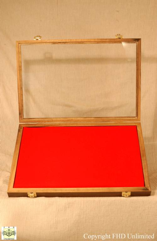 Display Case Shadow Box 14 Quot X 21 Quot Gun Rifle And Knife