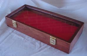 "Pistol Display Case - 9 1/2"" x 16"""