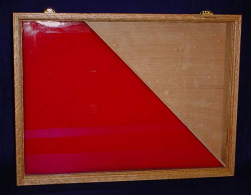 Flag Cases - Burial Flag and Medal Case