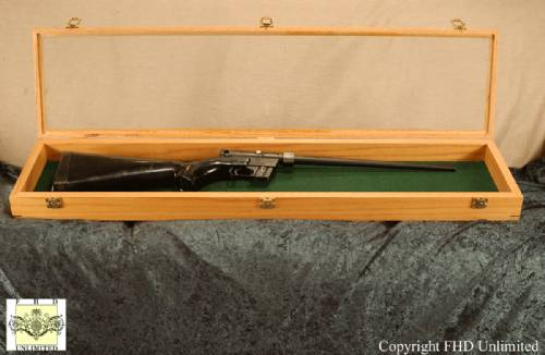 Rifle Display Case 10 Quot X 42 Quot Rifle And Musket Displays