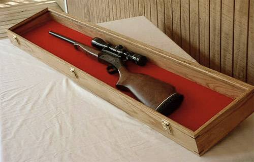 Rifle Display Case 10 Quot X 52 Quot Rifle And Musket Displays