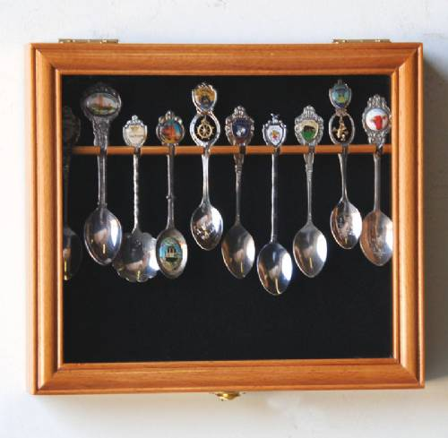 Spoon Cases 10 Display Case