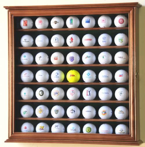 Display Cases Golfball 49 Ball Golf Memorabilia Displays
