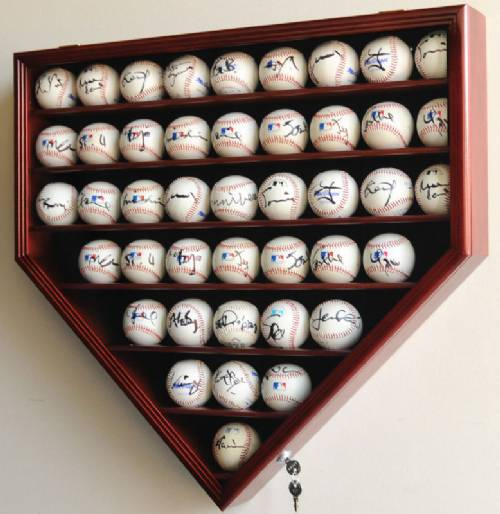 Display Case Baseball 43 Ball Baseball Memorabilia
