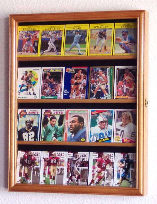Display Case -  Sports Cards - 20