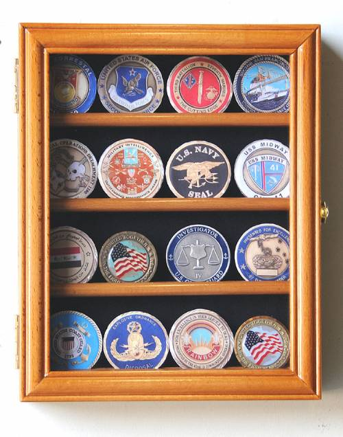 Coin Display Case - Four Row