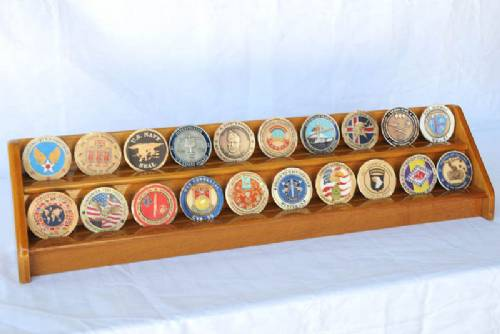 Coin Display Rack - Two Row