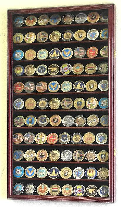 Coin Display Case - Eleven Row