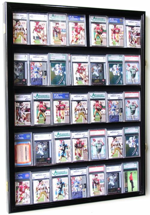 Display Case Sports Cards 35 With Uv Protection
