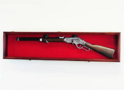 Rifle Display Case - Single Rifle
