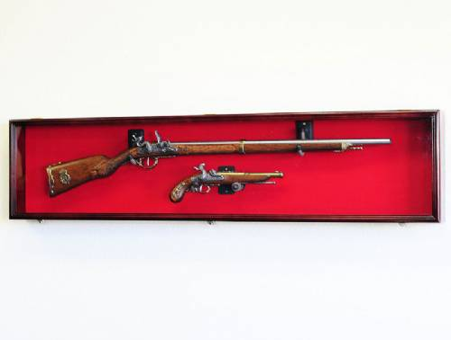 Rifle Display Case - Long Rifle or Musket