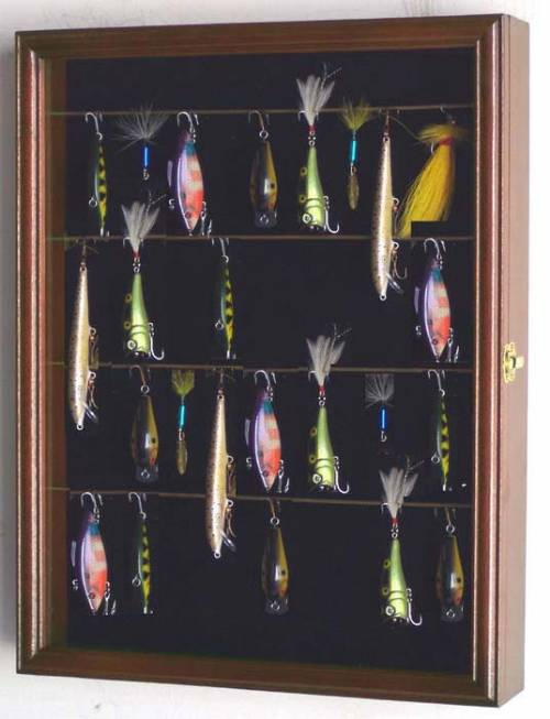 Display Cases - Fishing Lures