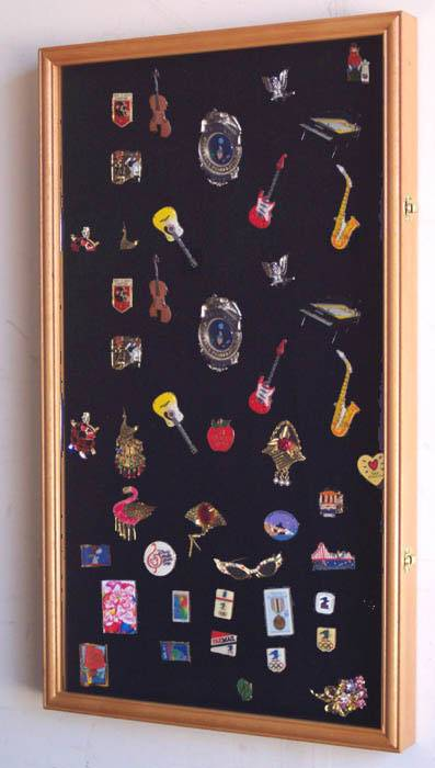Display Case - Medals, Pins or Patches - Large