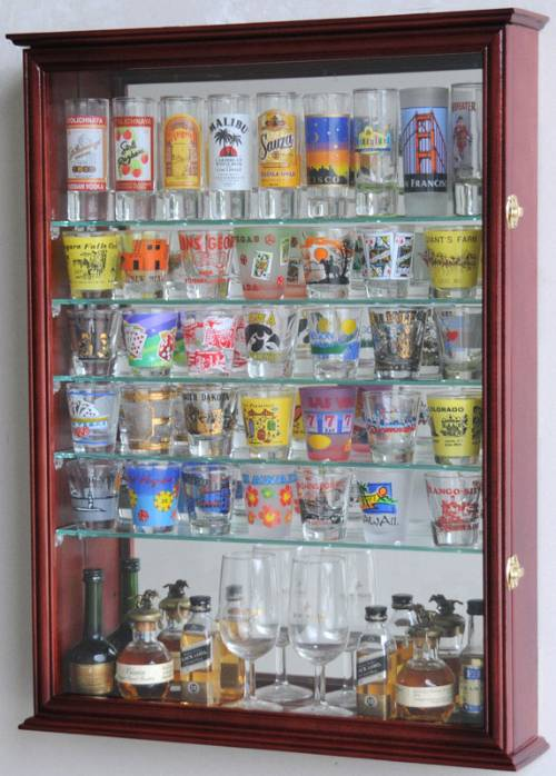 Curio Cabinets, Collectibles Cabinets, Display Cases, Memory Showcases