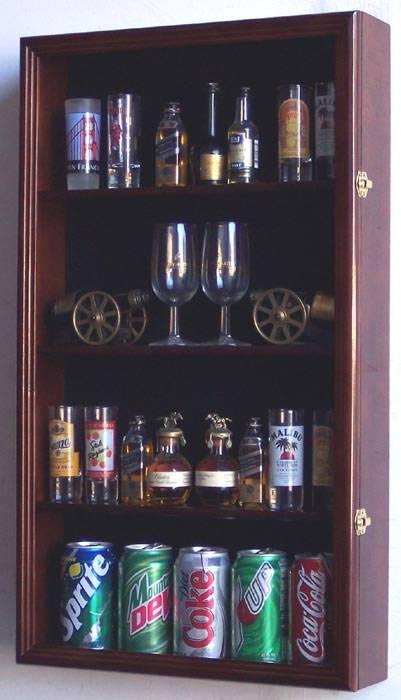 Shotglass Collector Case Tall Shot Glass Mini Liquor