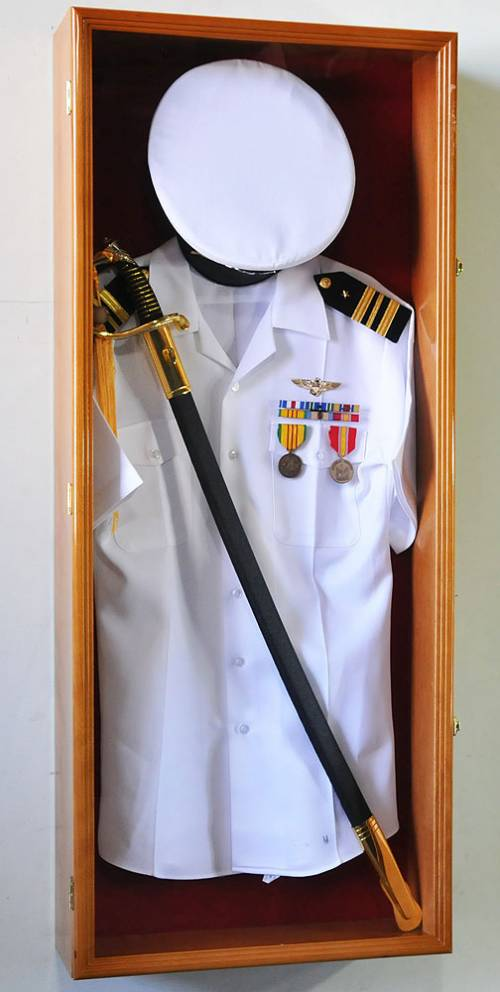 Display Cases - Uniform Shadow Box : shadow box military uniform - Aboutintivar.Com