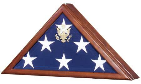 Flag Cases - Presidential Hinged Lid
