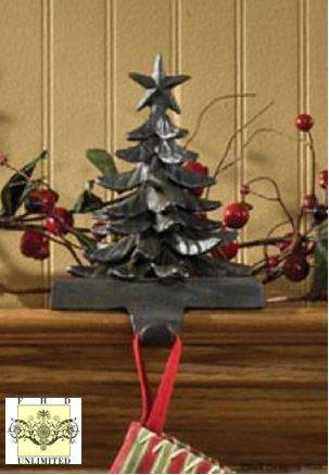 Stocking Holders - Christmas Tree