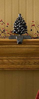Stocking Holders - Pine Cone
