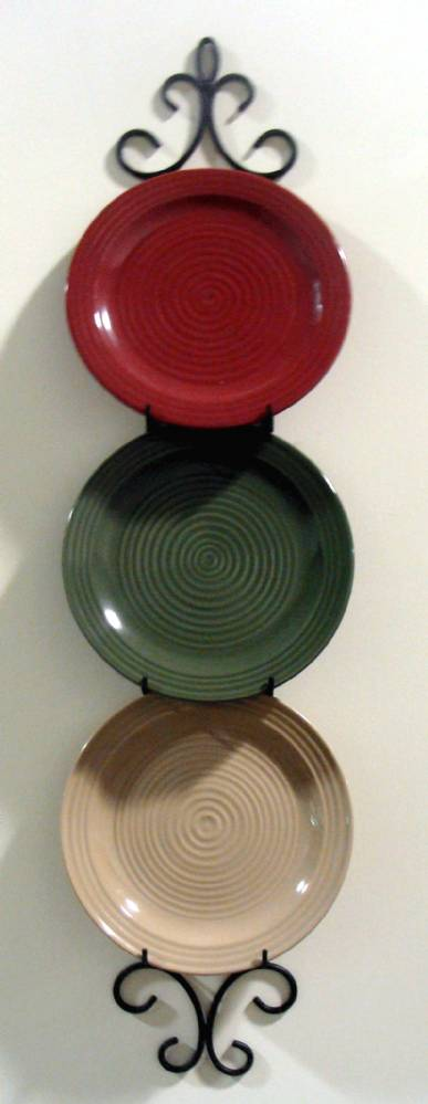"Plate Rack - Normandy Triple for 10"" 11"" Plates"