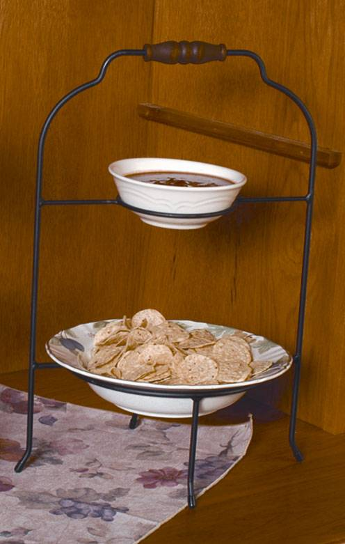 Pie or Plate Racks - Double Tier - Bowl and Plate