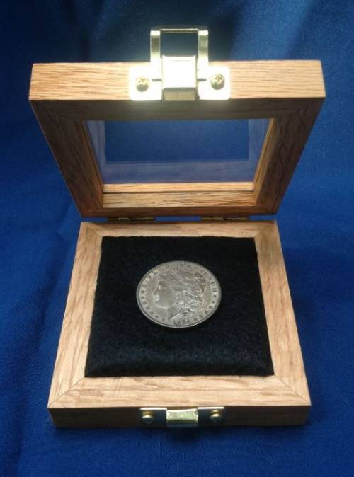 "Coin Display Case - 4"" x 4"""