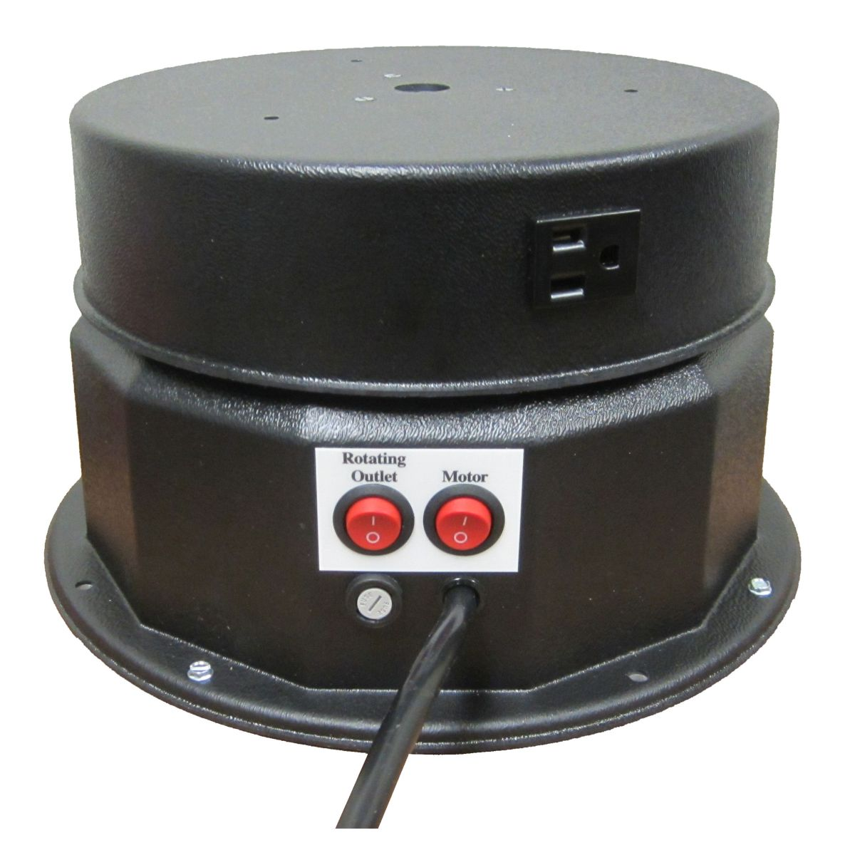 Motorized Turntable - 200 Pound Cap. - Electric Outlet