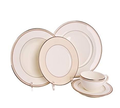 Place Setting Display Stand - 5 Piece Setting, Multiple Plate ...