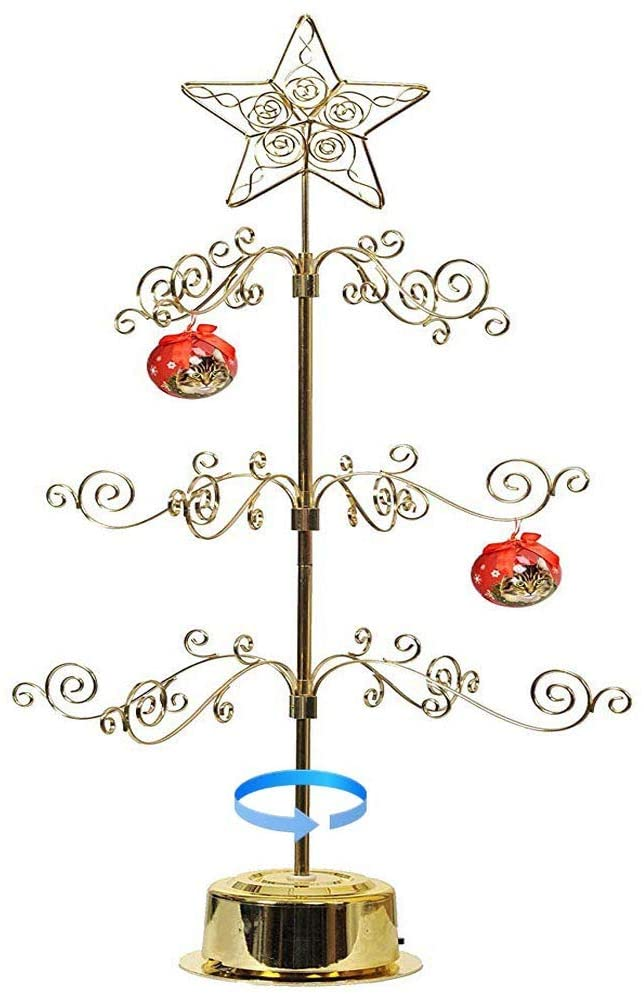 "Ornament Display Tree - Rotating Scroll 24"" Tree"