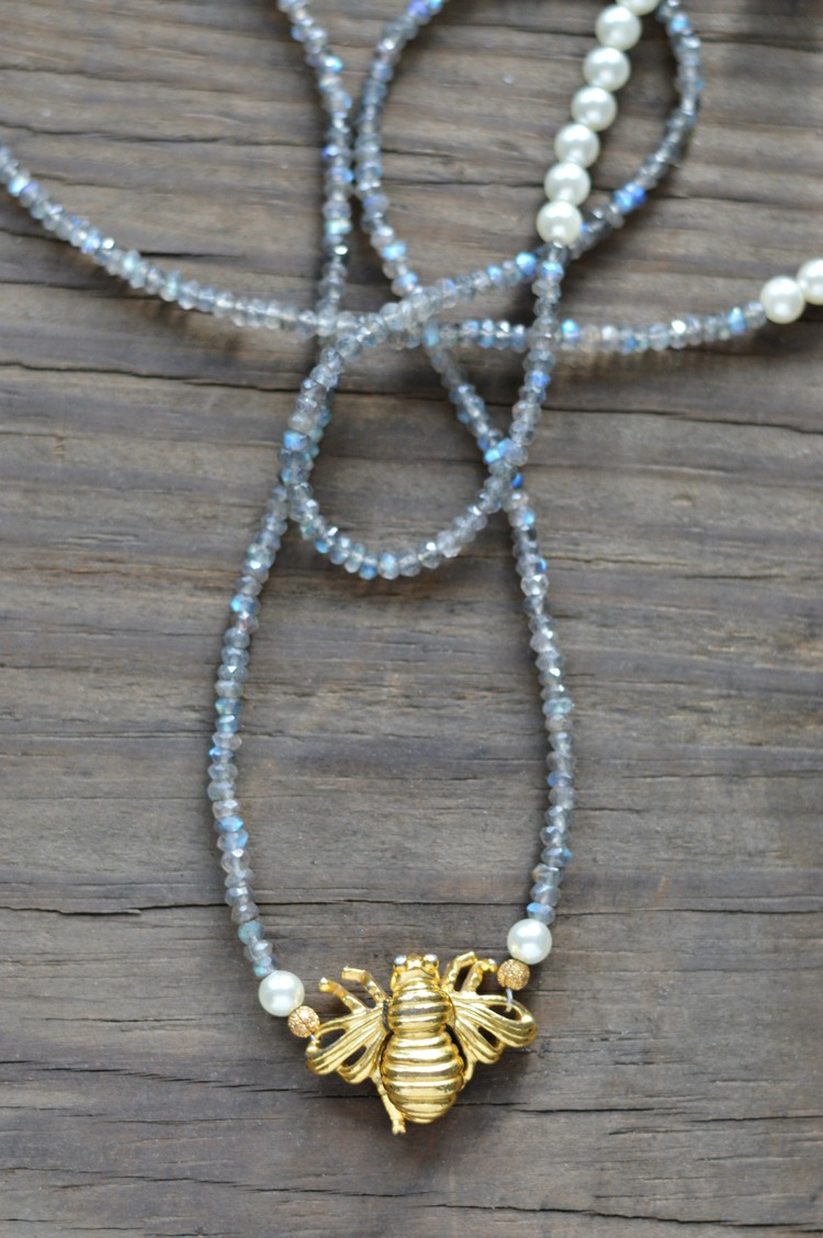 Circa 1910 Bee Mine Necklace