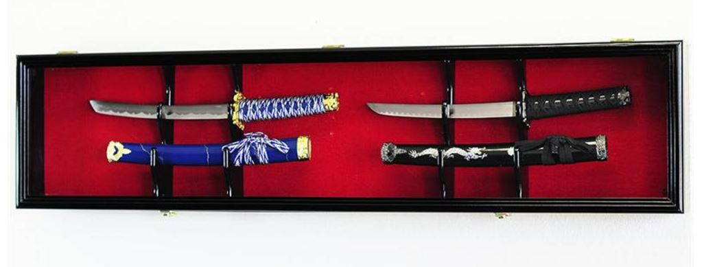Short Sword & Dagger Display Case