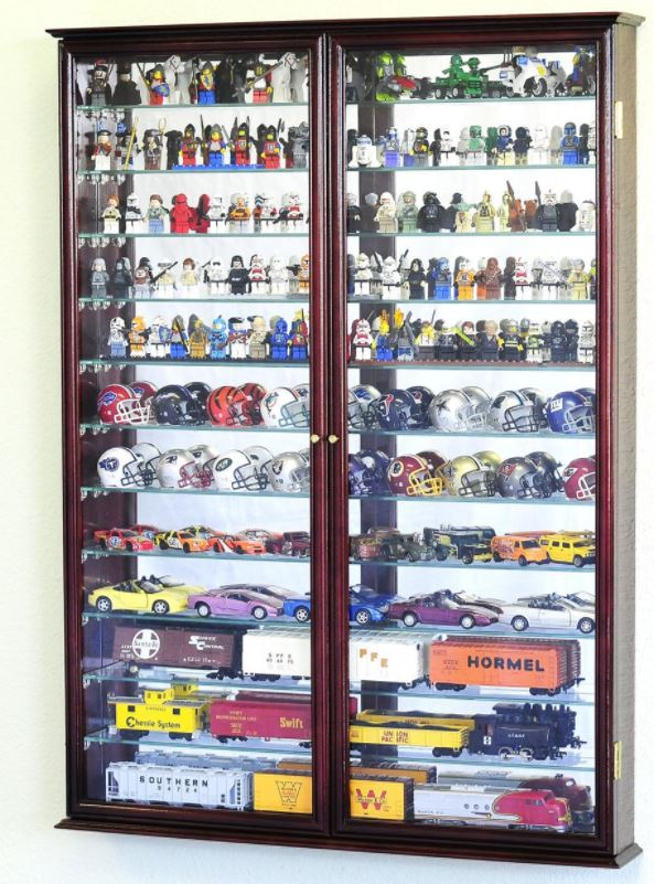 Display Case - Diecast & Hotwheels Two Door Display