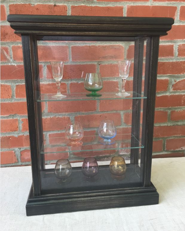 Shot Glass Display Case - Premium 3 Shelved