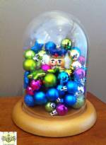 "Glass Domes -   Small 4-1/2"" x 8""H"